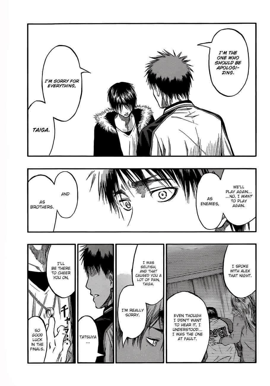 Kuroko no Basket Manga Chapter 229 - Image 14