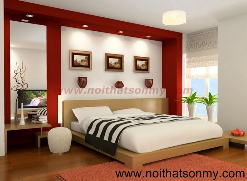 Giường ngủ bằng gỗ tự nhiên