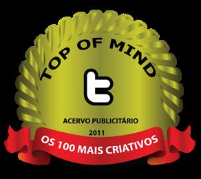 Top of Mind Twitter 2011 badge