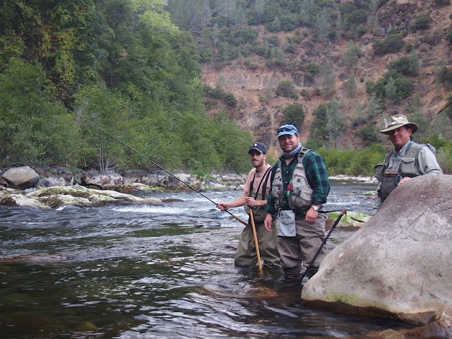 Tenkara fishing with veterans