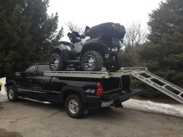 Atv Deck For Truck Polaris Atv Forum