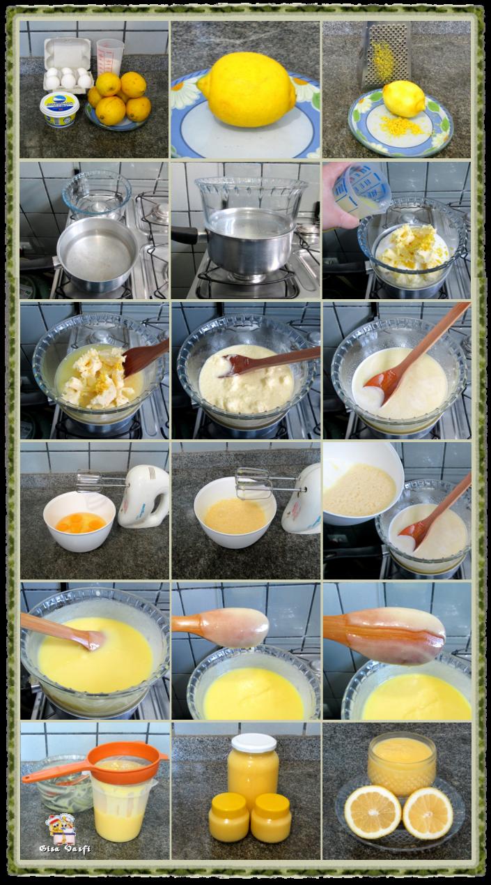Sobremesa de morangos com creme de limão siciliano 3