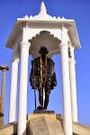 Statue de Gandhi, Pondichéry