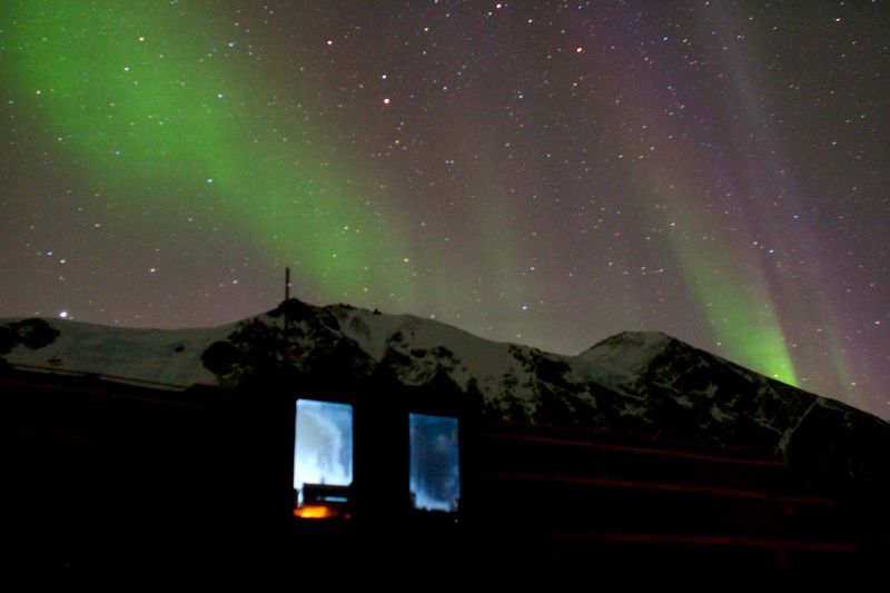 Aurora at Lake Bonney(photo by M. Charnetski)