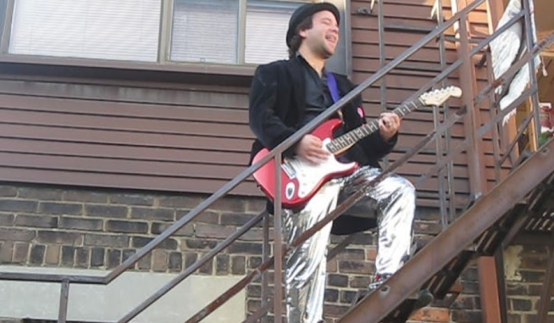 Disco Pants Rock Out With A Staircase Serenade