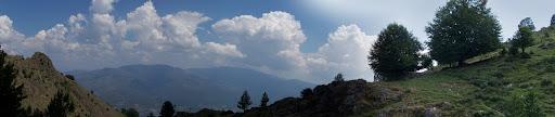La partie Ouest des bergeries de Stazzo et le vallon de Castiglione