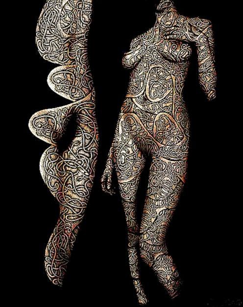 Body painting – Art or Obscenity  0840am
