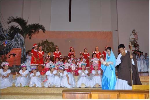 Giáo xứ Bình Cang mừng lễ Chúa Giáng sinh năm 2014