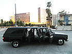 Custom Chevrolet Suburban - 6 door SUV - Dually - Matte Black - Classic Chevy