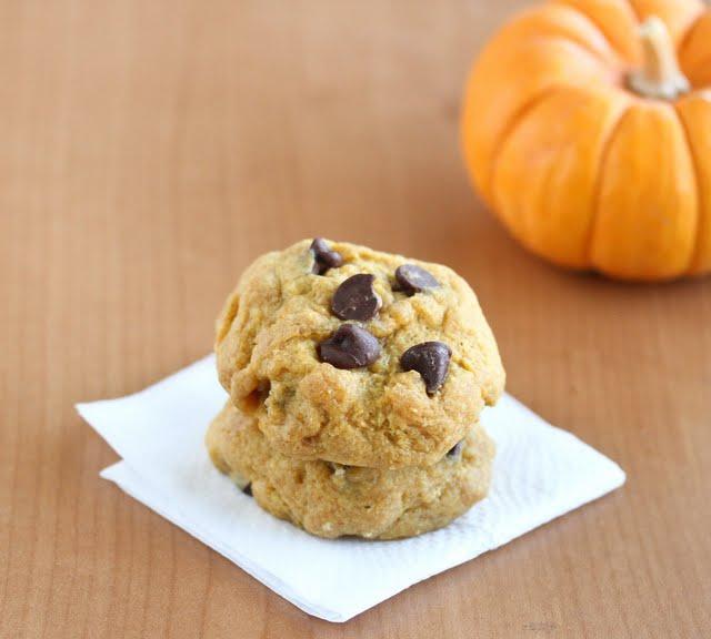 5 Minute Pumpkin Cookies