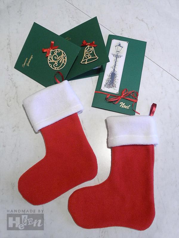 новогодний носок открытка больница