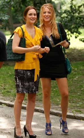 Blake Lively and Leighton Meester - Page 4 Frenemies-again