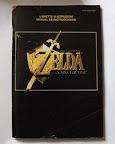 The Legend Of Zelda - Ocarina of Time - Manual portada