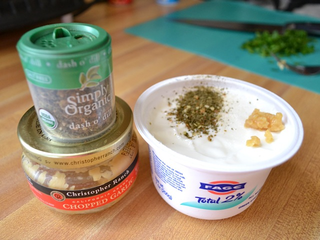 dill yogurt sauce ingredients