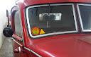 samoljepiva inspekcijska naljepnica tehničke ispravnosti vozila - vrijedila do kraja siječnja 1971. godine