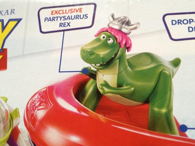 toy story partysaurus rex figure bathtime buddies