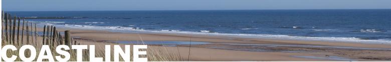 Northumberland's stunning coastline