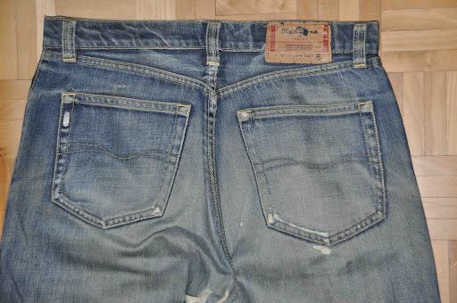 worn pepe denim jeans