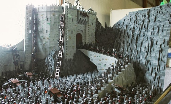LEGO Battle of Helm's Deep