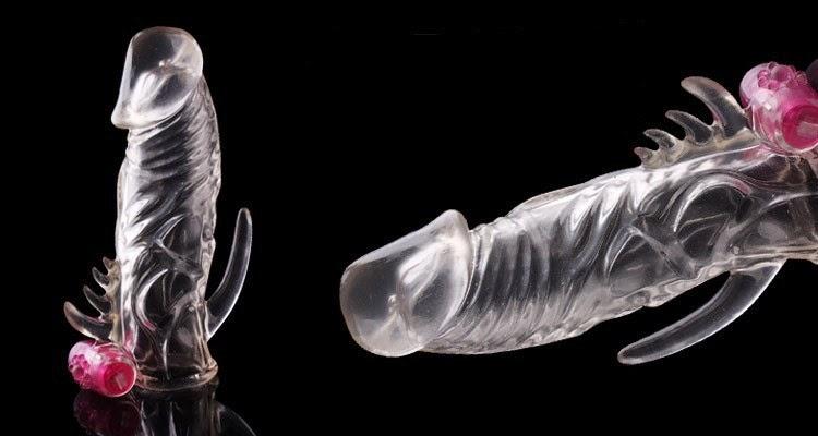 Kondom Sambung Berduri Getar