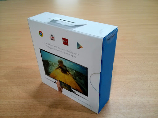 Chromecast Unboxing - 2