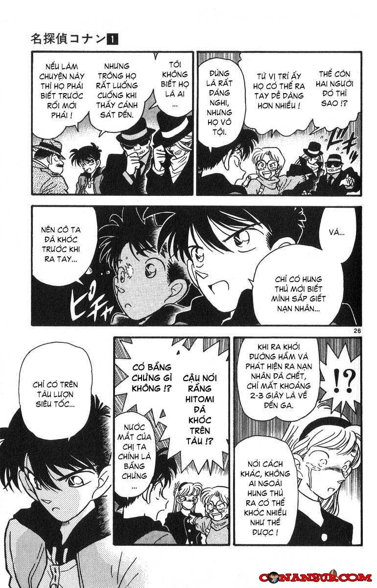 cn 031, Thám tử lừng danh Conan chap 1    NarutoSub