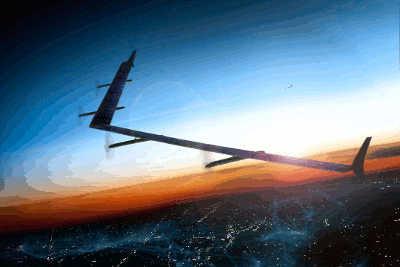 Projek Facebook Aquila Drone