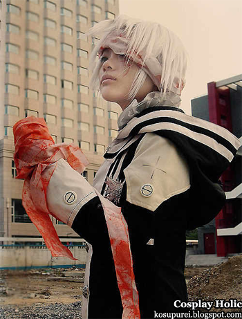 d. gray-man cosplay - allen walker 6