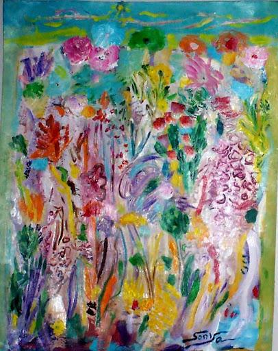 Black Paper - Wildeflowers, by Sonya Gonzalez