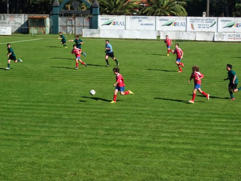 Instante do partido de infantís Meirás - Numancia (05/10/13)
