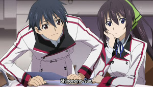 Infinite Stratos, Houki Shinonono
