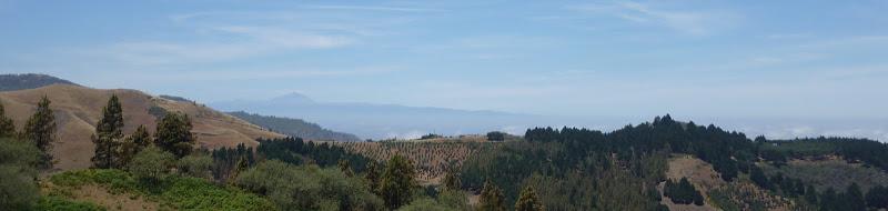 Lanschaft zwischen Montaon Negro und Moya auf Gran Canaria