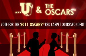 oscarcontest Academy Awards MTVU Oscars Contest won by 2 Hofstra Students