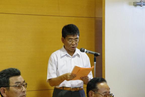 司会の山田英喜 課長