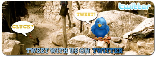 Tweet with us on Twitter!