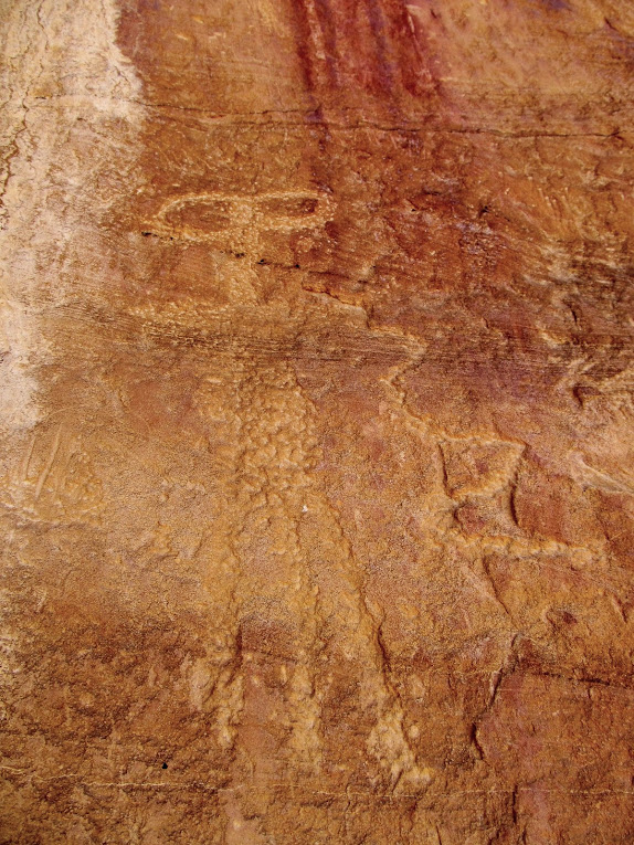 Petroglyph at Unexpected Panel