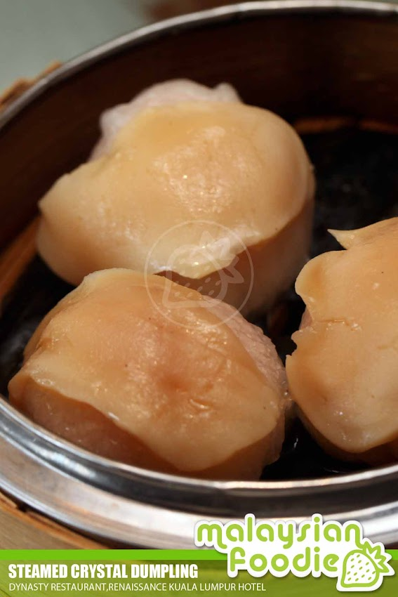 DIM SUM IN DYNASTY RESTAURANT, RENAISSANCE KL HOTEL (INVITED REVIEW)