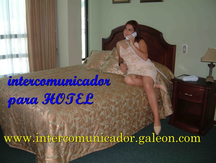 intercomunicador HOTEL