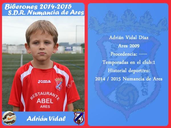 ADR Numancia de Ares. ADRIAN VIDAL