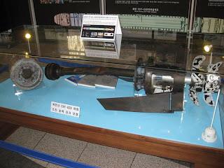 Restos del torpedo que hundió el Cheonan coreano
