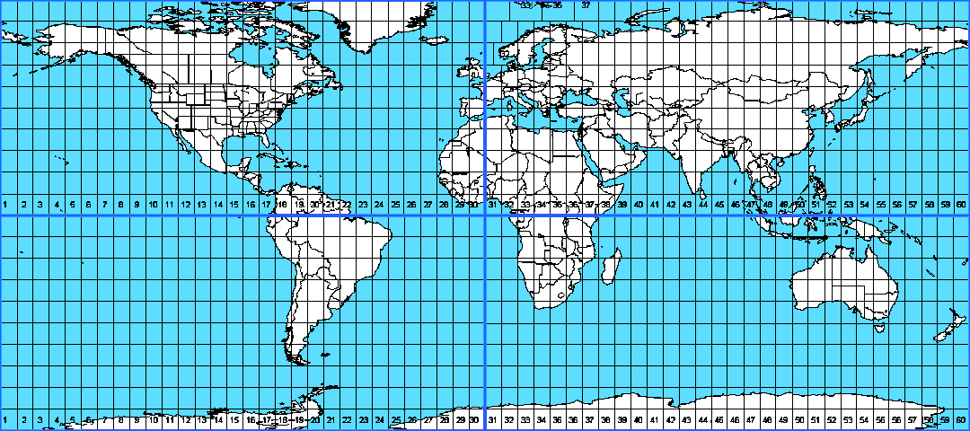 Map Coordinates Latitude Longitude