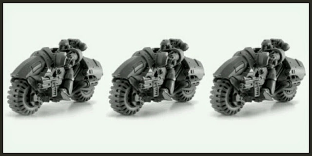 Motos Marines Espaciales Forge World