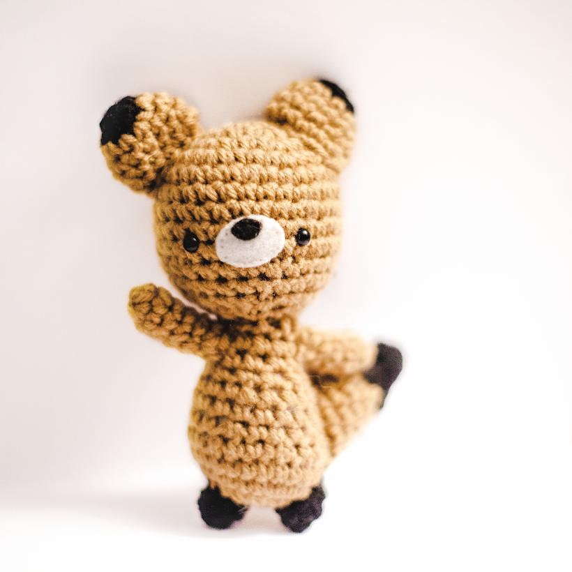 tiny mooon — Adorably Kawaii: Sleepy Fox Pattern | 820x820