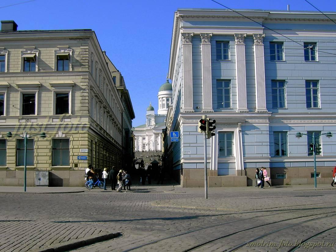 Улицы Хельсинки фото