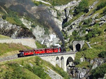 Train touristique à crémaillère