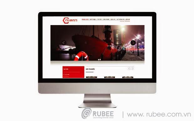 Thiết kế website Durgo 1 đẹp