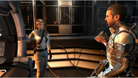 Isaac and Nicole (Dead Space 2)