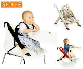 Chaise haute de voyage handysitt de stokke cubes for Chaise haute stokke