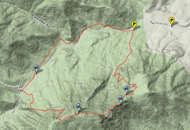 Ultraholic Old Rag Mountain Trail Hike 31211
