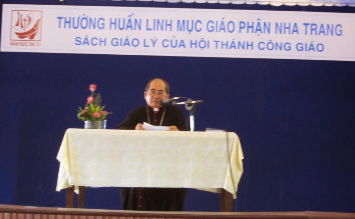Thường huấn Linh mục Giáo phận Nha Trang năm 2013